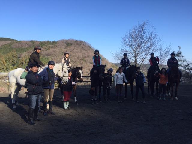 【埼玉県越生町の乗馬クラブ】初乗りです!!