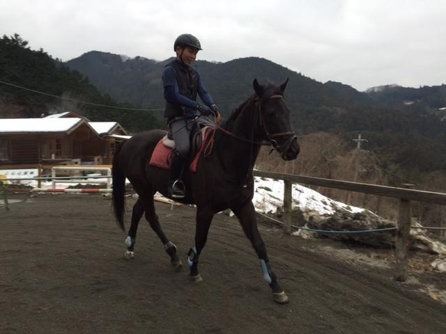 [越生の乗馬クラブ]ありきたりですが難しいです!!(埼玉県熊谷市/M様)