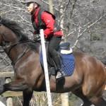 [越生の乗馬クラブ]スプリングホースショーにてクロス障害を行いました。[東京都板橋区/T様]