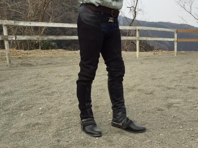 [越生の乗馬クラブ]ロングチャプス!!(東京都世田谷区/M様)