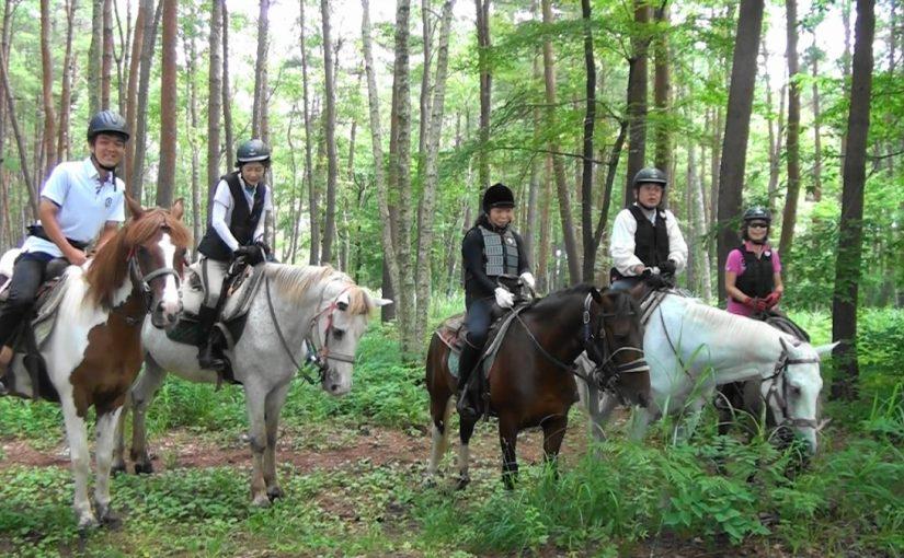 [越生の乗馬クラブ]カナディアンキャンプ八ヶ岳日帰り外乗ツアーに行ってきました