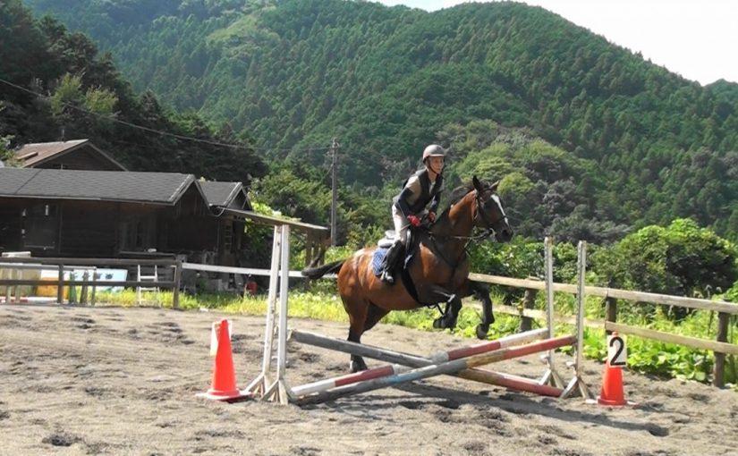[越生の乗馬クラブ]サマーホースショーにて障害競技に出場しました。[東京都板橋区/T様]
