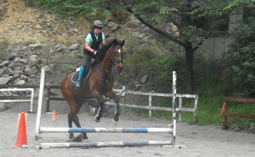 [越生の乗馬クラブ]練習の成果を発揮できました~!!