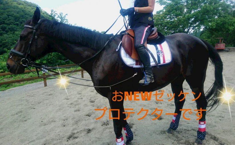 [越生の乗馬クラブ]おNEWゼッケンです!!