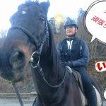 [越生の乗馬クラブ]乗り納めです~来年は外乗行けるように頑張ります!!