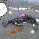 [越生の乗馬クラブ]やっほ~最高です~!!